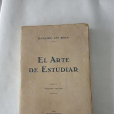 Libros antiguos: EL ARTE DE ESTUDIAR 1929 IMPRENTA ZAMBRANA MALAGA. Lote 254494225