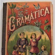Libros antiguos: LECCIONES PROGRESIVAS DE GRAMÁTICA CASTELLANA - ESTEBAN PALUZÍE - BARCELONA AÑO 1921. Lote 259904545