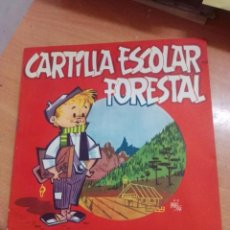 Libros antiguos: CARTILLA ESCOLAR FORESTAL 1959 DIBUJOS M A ECHEVARRIA. Lote 261244085