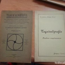 Libros antiguos: TAQUICALIGRAFIA. NUEVO PROCEDIMIENTO UNIVERSAL. Lote 261244410