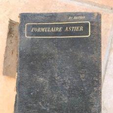 Libros antiguos: FORMULARIO MÉDICO VADE-MECUM. 1922. Lote 261296095