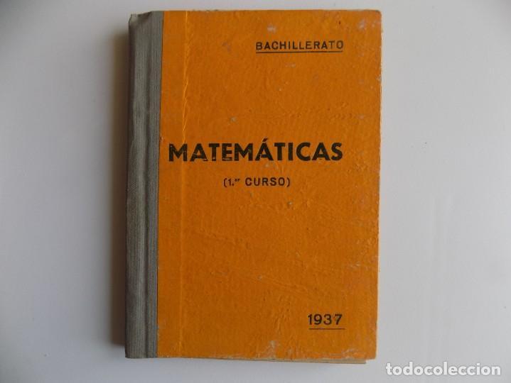 LIBRERIA GHOTICA. AMOS SABRAS. ARITMETICA Y GEOMETRIA. MATEMATICAS PRIMER CURSO. 1937.ILUSTRADO. (Libros Antiguos, Raros y Curiosos - Libros de Texto y Escuela)