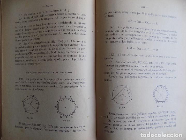 Libros antiguos: LIBRERIA GHOTICA. AMOS SABRAS. ARITMETICA Y GEOMETRIA. MATEMATICAS PRIMER CURSO. 1937.ILUSTRADO. - Foto 2 - 262053515