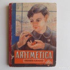 Libros antiguos: LIBRERIA GHOTICA. ARITMETICA. PRIMER GRADO. EDELVIVES. 1944. MUY ILUSTRADO. ESCUELA.. Lote 262068790