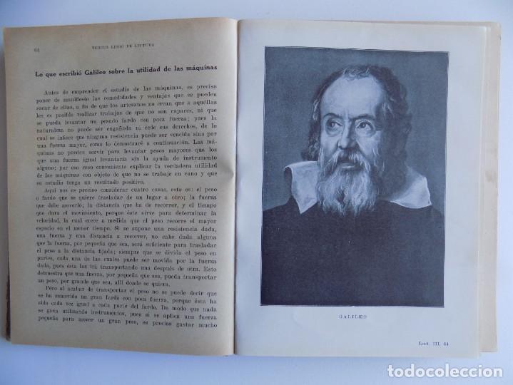 Libros antiguos: LIBRERIA GHOTICA. TERCER LIBRO DE LECTURA. SEIX BARRAL. 1934. ILUSTRADO. ESCUELA. - Foto 2 - 262069055