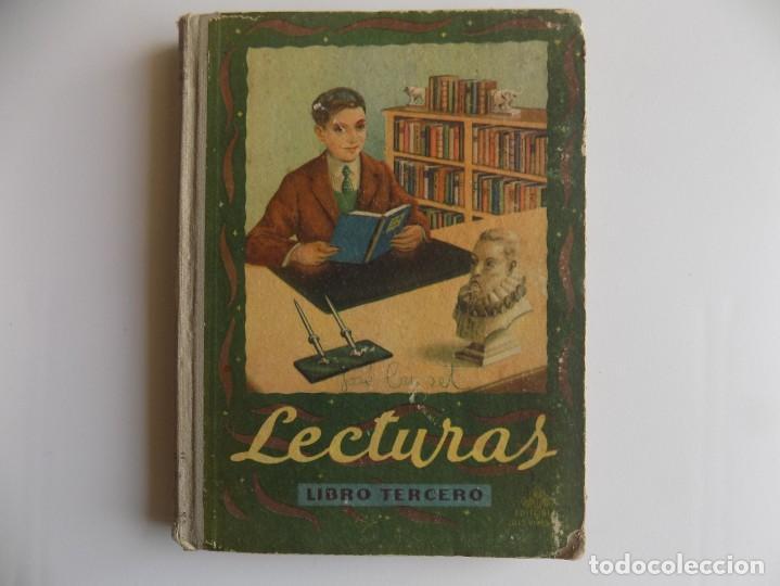 LIBRERIA GHOTICA. LECTURAS. LIBRO TERCERO. 1948. MUY ILUSTRADO. EDELVIVES. ESCUELA. (Libros Antiguos, Raros y Curiosos - Libros de Texto y Escuela)