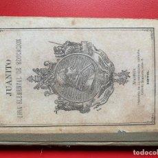 Libros antiguos: PARRAVICINI. JUANITO. OBRA ELEMENTAL DE EDUCACIÓN - PARRAVICINI L.A.. Lote 262275680