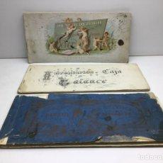 Libros antiguos: TRES LIBROS DE CALIGRAFIA Y LETRAS DE ENRIQUE BOVER - PARA USO DE LAS ESCUELAS. Lote 262766900