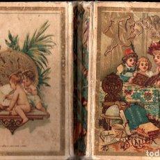 Libros antiguos: TESORO DE LAS ESCUELAS (CALLEJA, C. 1910). Lote 264487799
