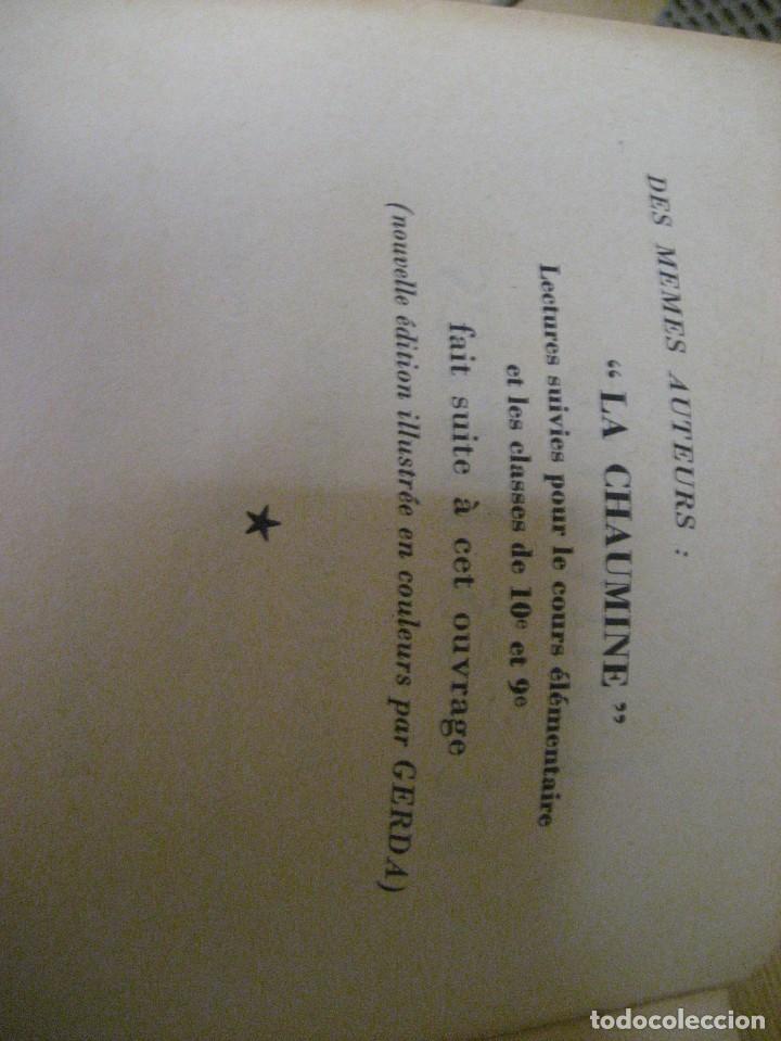 Libros antiguos: lote 3 libros escolares de lectura en frances año 1932 33 - ed bourrelier , nathan 1960 , escuela - Foto 7 - 265767379