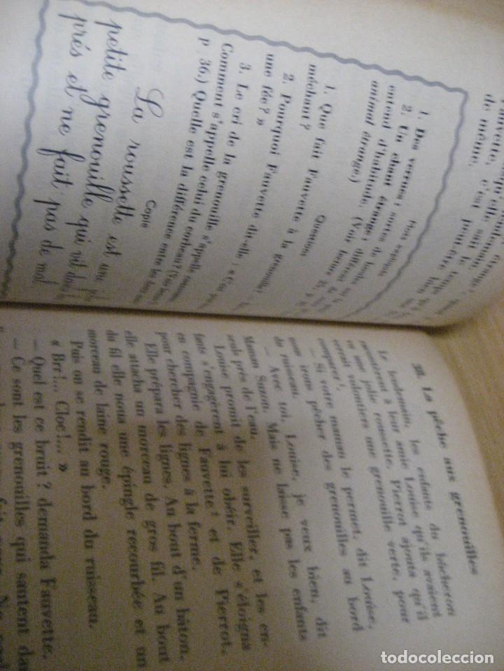Libros antiguos: lote 3 libros escolares de lectura en frances año 1932 33 - ed bourrelier , nathan 1960 , escuela - Foto 8 - 265767379