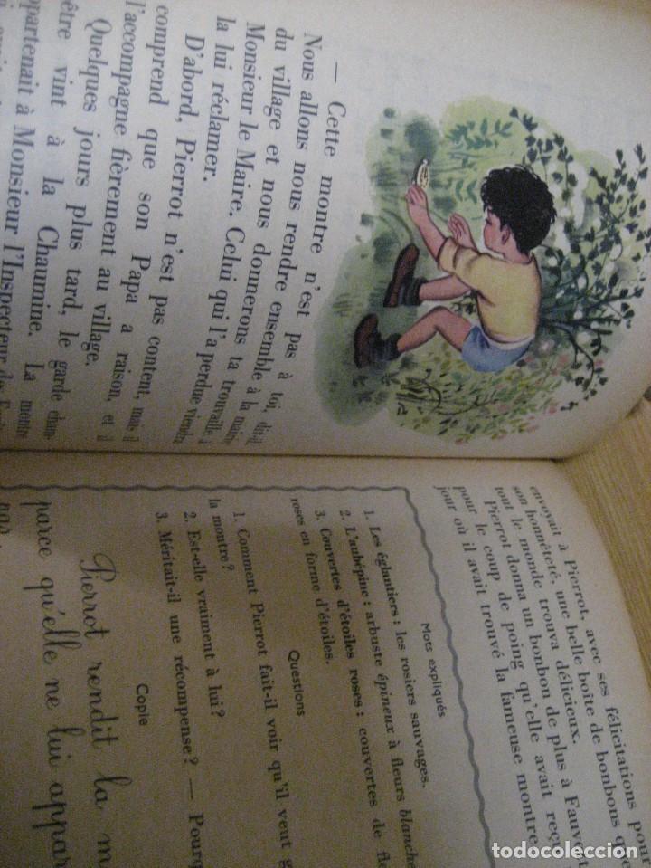 Libros antiguos: lote 3 libros escolares de lectura en frances año 1932 33 - ed bourrelier , nathan 1960 , escuela - Foto 9 - 265767379