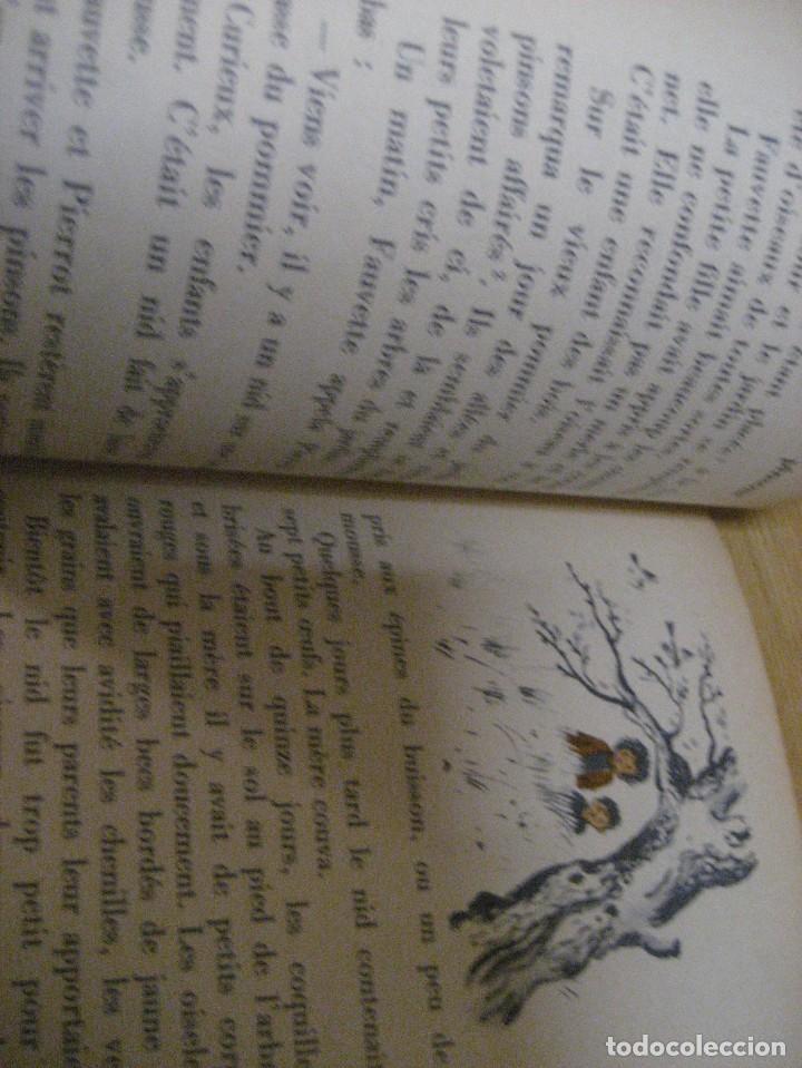 Libros antiguos: lote 3 libros escolares de lectura en frances año 1932 33 - ed bourrelier , nathan 1960 , escuela - Foto 10 - 265767379