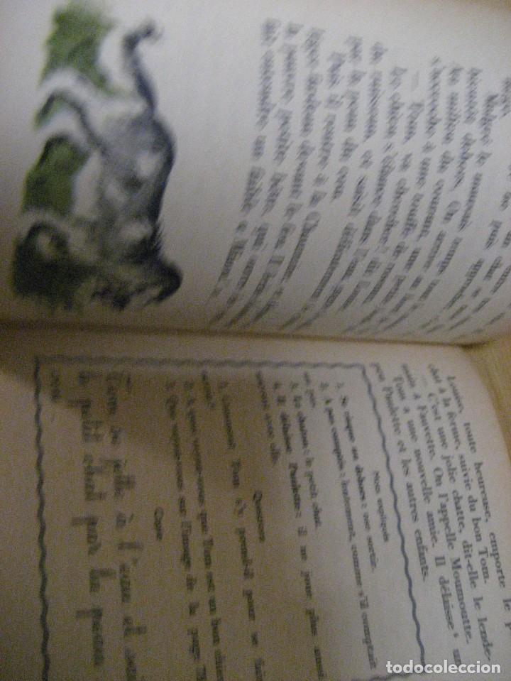 Libros antiguos: lote 3 libros escolares de lectura en frances año 1932 33 - ed bourrelier , nathan 1960 , escuela - Foto 11 - 265767379