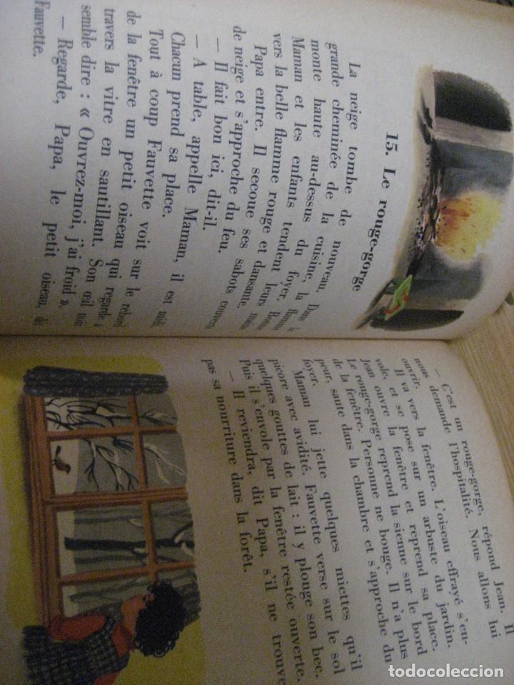 Libros antiguos: lote 3 libros escolares de lectura en frances año 1932 33 - ed bourrelier , nathan 1960 , escuela - Foto 12 - 265767379