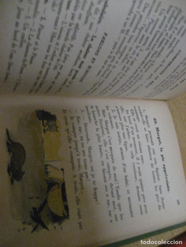 Libros antiguos: lote 3 libros escolares de lectura en frances año 1932 33 - ed bourrelier , nathan 1960 , escuela - Foto 15 - 265767379
