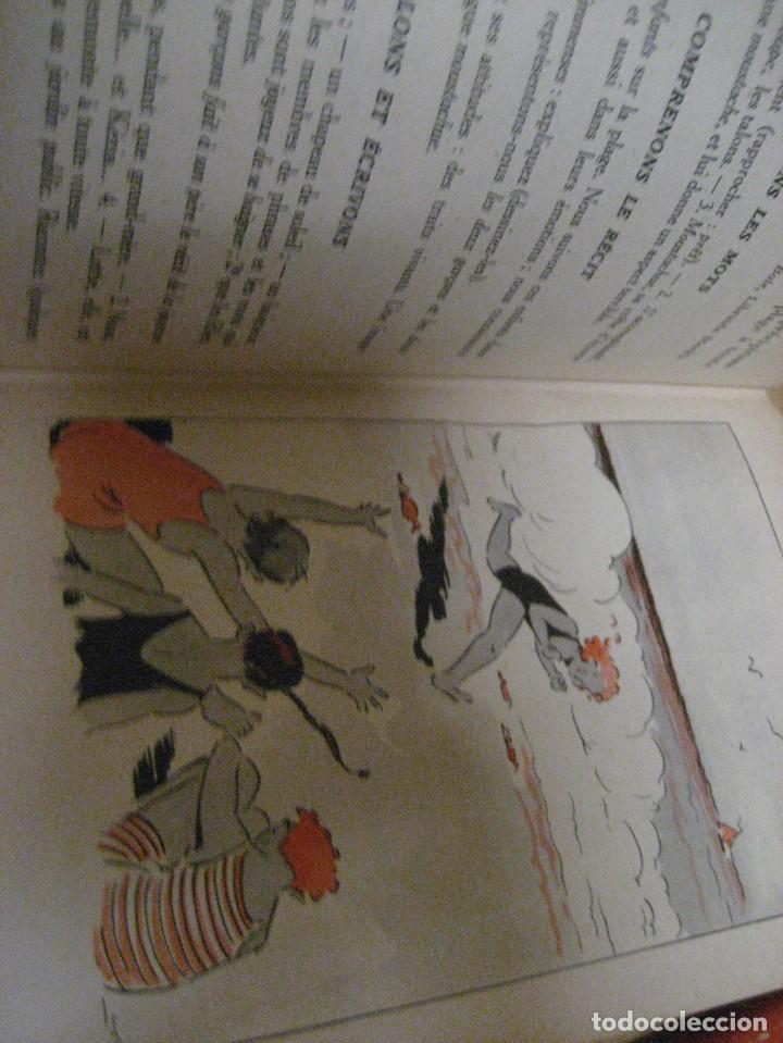 Libros antiguos: lote 3 libros escolares de lectura en frances año 1932 33 - ed bourrelier , nathan 1960 , escuela - Foto 20 - 265767379