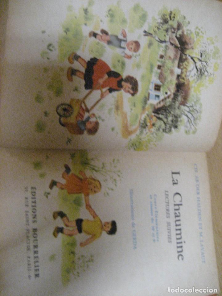 Libros antiguos: lote 3 libros escolares de lectura en frances año 1932 33 - ed bourrelier , nathan 1960 , escuela - Foto 21 - 265767379