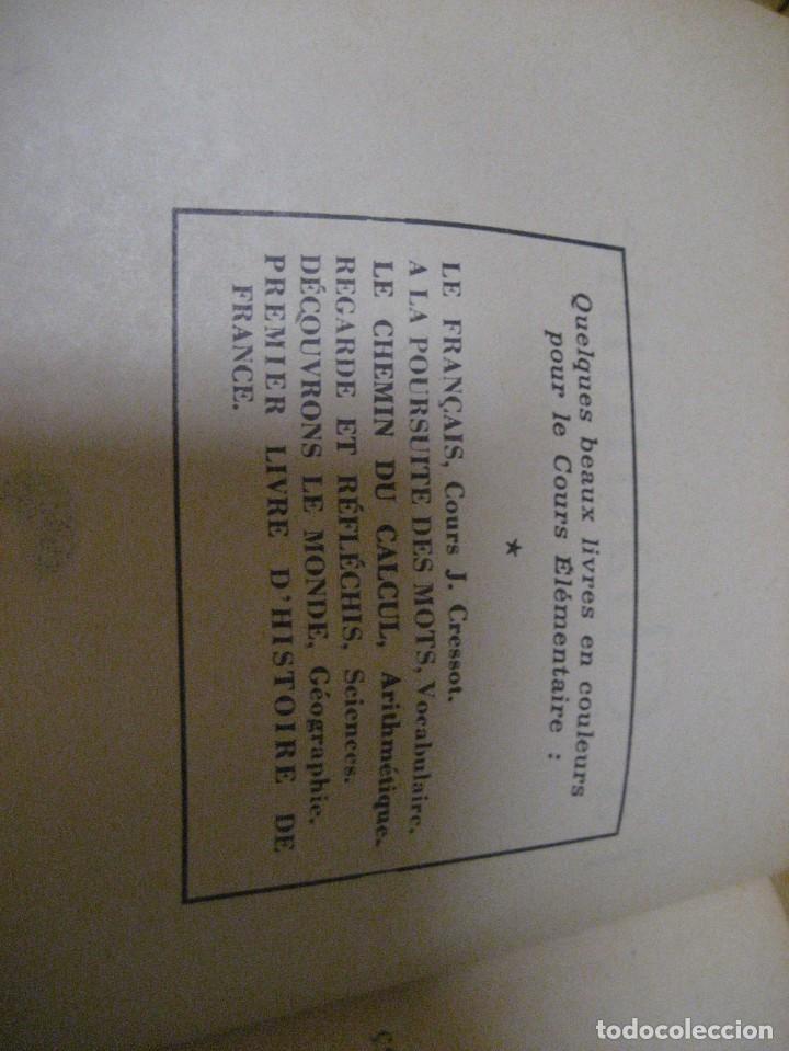 Libros antiguos: lote 3 libros escolares de lectura en frances año 1932 33 - ed bourrelier , nathan 1960 , escuela - Foto 23 - 265767379