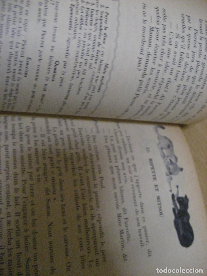 Libros antiguos: lote 3 libros escolares de lectura en frances año 1932 33 - ed bourrelier , nathan 1960 , escuela - Foto 24 - 265767379
