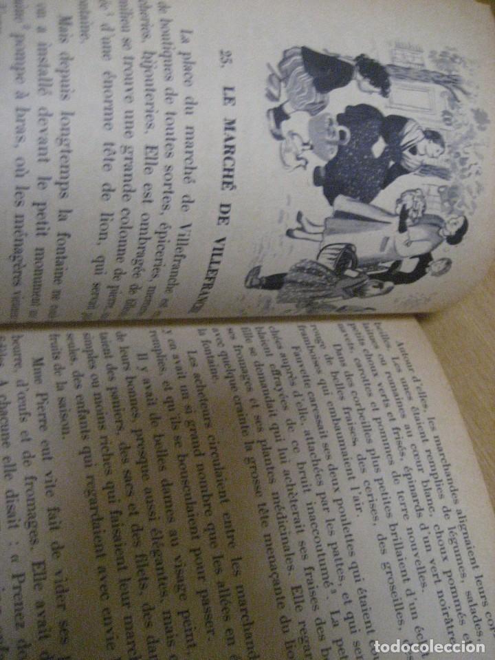 Libros antiguos: lote 3 libros escolares de lectura en frances año 1932 33 - ed bourrelier , nathan 1960 , escuela - Foto 25 - 265767379
