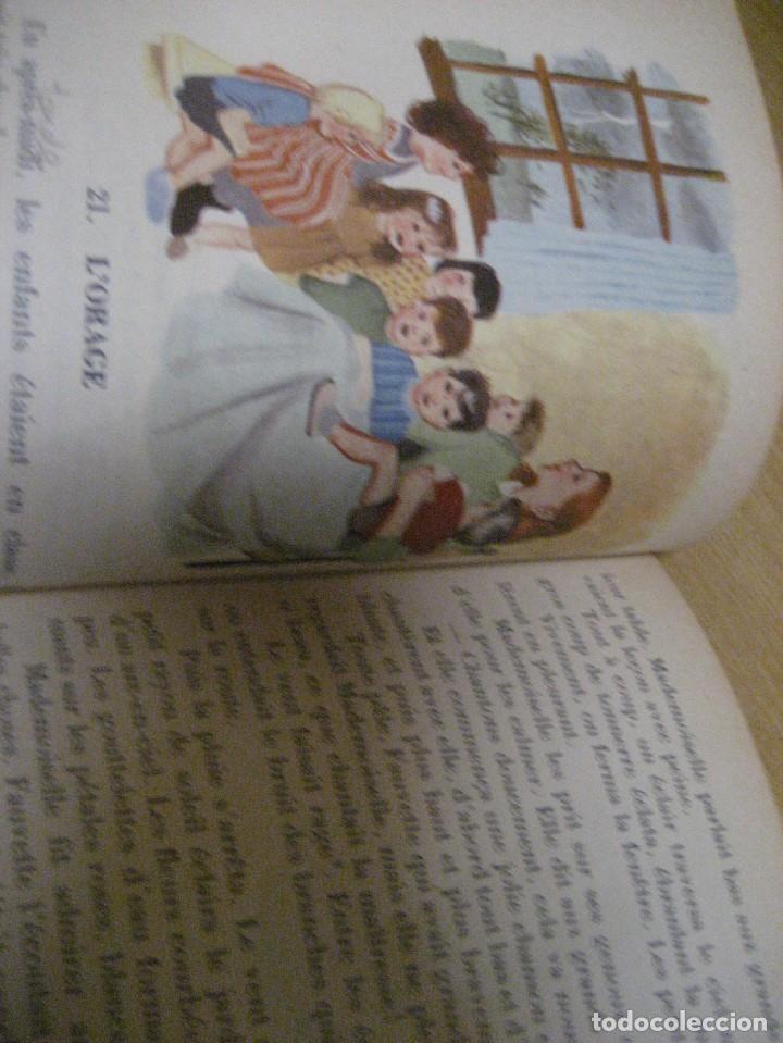 Libros antiguos: lote 3 libros escolares de lectura en frances año 1932 33 - ed bourrelier , nathan 1960 , escuela - Foto 26 - 265767379