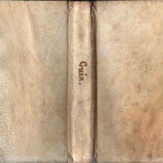 Libros antiguos: GUIA DE LA INFANCIA O LECCIONES AMENAS E INSTRUCTIVAS (MAYOL, C. 1800) PERGAMINO. Lote 271623968