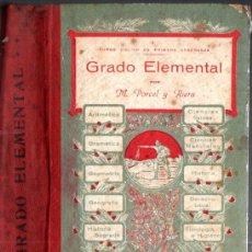Libros antiguos: PORCEL Y RIERA . ENCICLOPEDIA GRADO ELEMENTAL (PALMA DE MALLORCA, 1926 A 1928). Lote 271812688