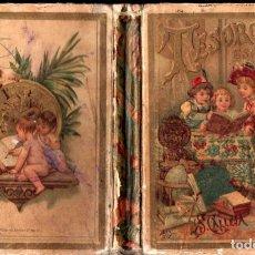 Libros antiguos: TESORO DE LAS ESCUELAS (CALLEJA, 1898). Lote 271873773