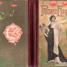 Libros antiguos: PARNASO ESPAÑOL (BASTINOS, 1903) ANTOLOGÍA DE TEXTOS EN PROSA Y VERSO. Lote 271874423