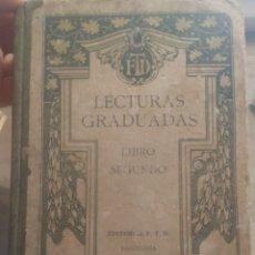 Libros antiguos: LECTURAS GRADUADAS DE 1925. Lote 274174733