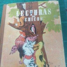 Libri antichi: LECTURAS DE CHICOS.. Lote 275266858