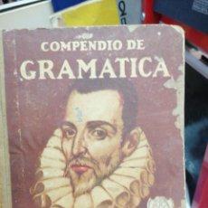 Libri antichi: COMPENDIO DE GRAMÁTICA DE LA LENGUA ESPAÑOLA. 1928. Lote 275680148