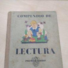 Libros antiguos: COMPENDIO DE LECTURA PRIMER LIBRO POR PASCUAL RUIZ , SEIX Y BARRAL EDITORES 1933. Lote 275953593