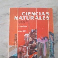 Libri antichi: CIENCIAS NATURALES 2º CURSO - F. ESTEVE CHUECA 1969 MARFIL - LIBRO DE TEXTO. Lote 275939678