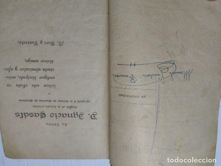 Libros antiguos: Libro -El Manuscrito Metódico- D.Antonio Bori y Fontesta 1914 Librería Monserrat - Foto 3 - 276176353