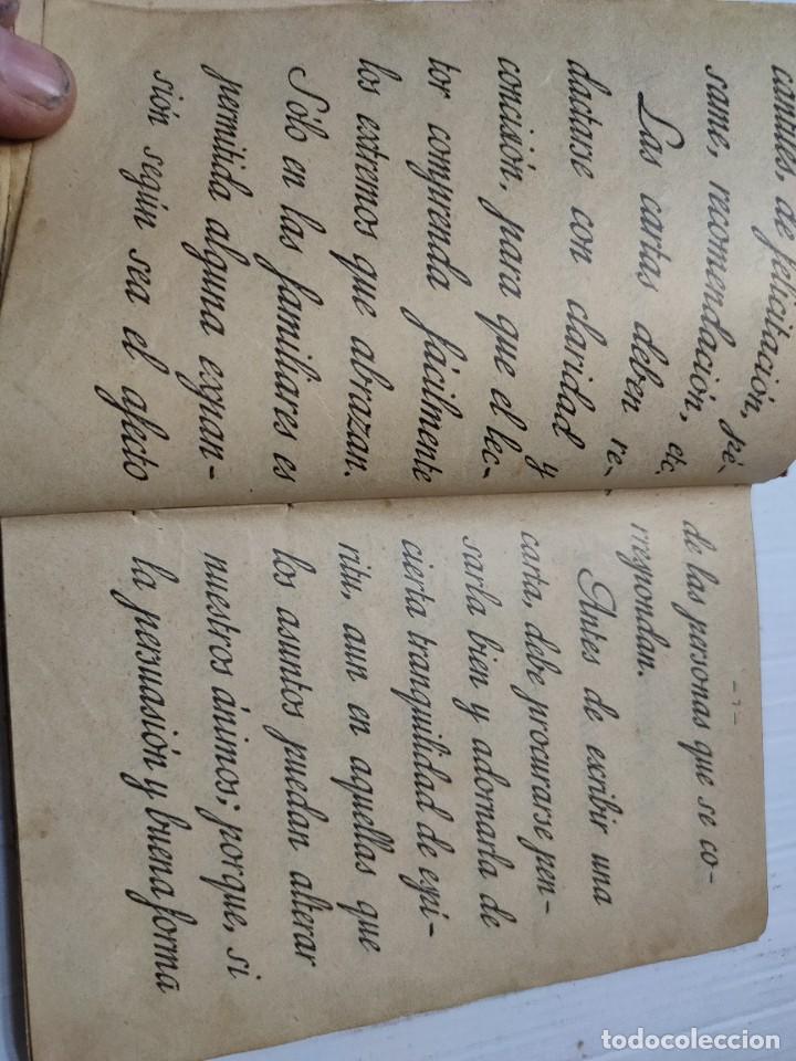 Libros antiguos: Libro -El Manuscrito Metódico- D.Antonio Bori y Fontesta 1914 Librería Monserrat - Foto 4 - 276176353