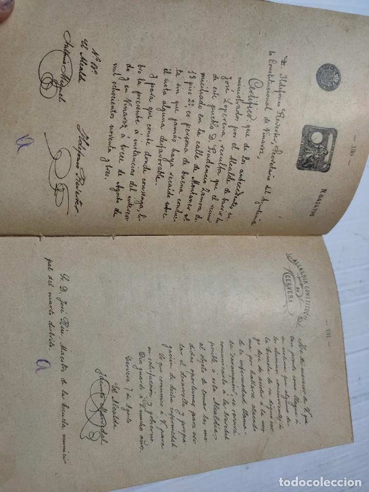 Libros antiguos: Libro -El Manuscrito Metódico- D.Antonio Bori y Fontesta 1914 Librería Monserrat - Foto 6 - 276176353