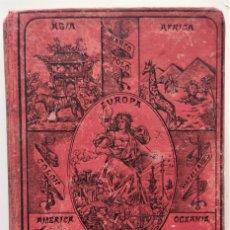 Libros antiguos: ELEMENTOS DE GEOGRAFÍA COMPARADA - ENRIQUE SÁNCHEZ Y RUEDA - LIBRERÍA HERNANDO, MADRID 1904. Lote 276911428