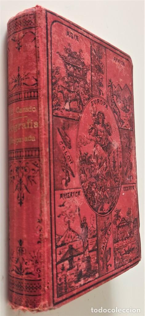 Libros antiguos: ELEMENTOS DE GEOGRAFÍA COMPARADA - ENRIQUE SÁNCHEZ Y RUEDA - LIBRERÍA HERNANDO, MADRID 1904 - Foto 2 - 276911428