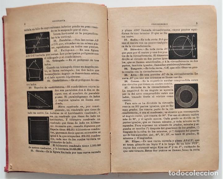 Libros antiguos: ELEMENTOS DE GEOGRAFÍA COMPARADA - ENRIQUE SÁNCHEZ Y RUEDA - LIBRERÍA HERNANDO, MADRID 1904 - Foto 6 - 276911428