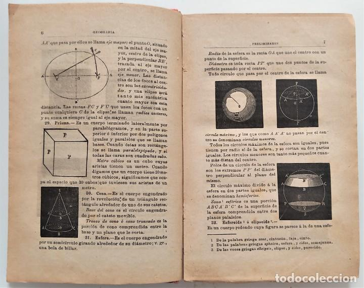 Libros antiguos: ELEMENTOS DE GEOGRAFÍA COMPARADA - ENRIQUE SÁNCHEZ Y RUEDA - LIBRERÍA HERNANDO, MADRID 1904 - Foto 7 - 276911428