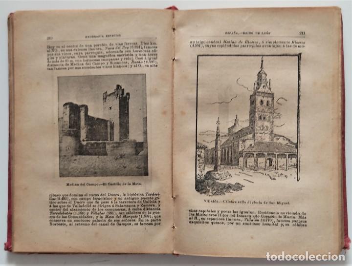 Libros antiguos: ELEMENTOS DE GEOGRAFÍA COMPARADA - ENRIQUE SÁNCHEZ Y RUEDA - LIBRERÍA HERNANDO, MADRID 1904 - Foto 11 - 276911428