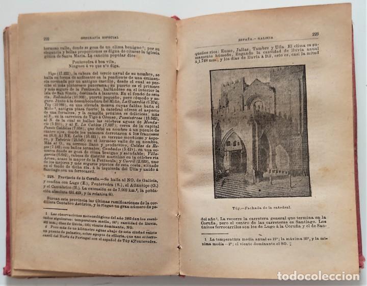 Libros antiguos: ELEMENTOS DE GEOGRAFÍA COMPARADA - ENRIQUE SÁNCHEZ Y RUEDA - LIBRERÍA HERNANDO, MADRID 1904 - Foto 12 - 276911428