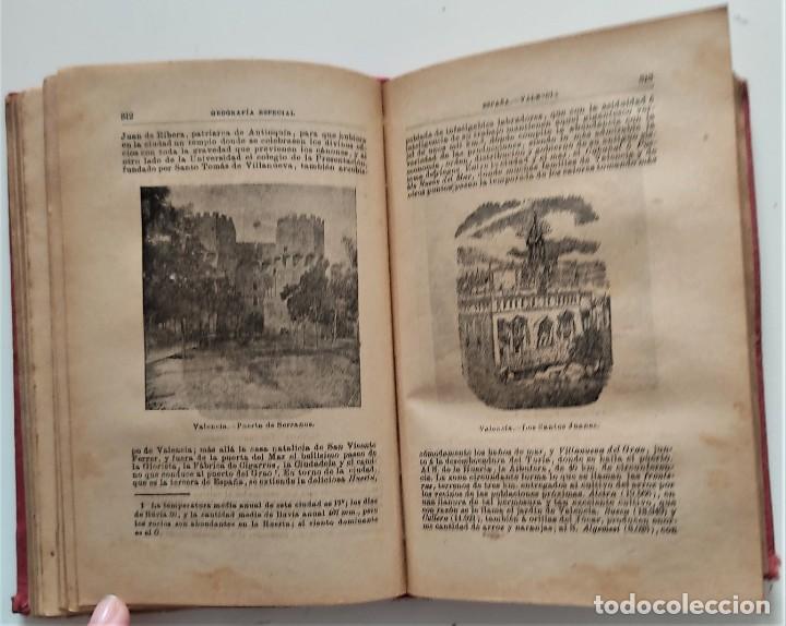 Libros antiguos: ELEMENTOS DE GEOGRAFÍA COMPARADA - ENRIQUE SÁNCHEZ Y RUEDA - LIBRERÍA HERNANDO, MADRID 1904 - Foto 15 - 276911428