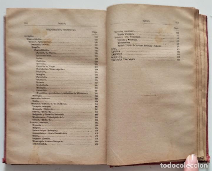 Libros antiguos: ELEMENTOS DE GEOGRAFÍA COMPARADA - ENRIQUE SÁNCHEZ Y RUEDA - LIBRERÍA HERNANDO, MADRID 1904 - Foto 18 - 276911428