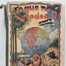 Libros antiguos: LO QUE NOS RODEA, 50 LECCIONES DE COSAS - MANUEL MARINEL-LO - DIBUJOS OPISSO - AÑO 1931. Lote 276911928