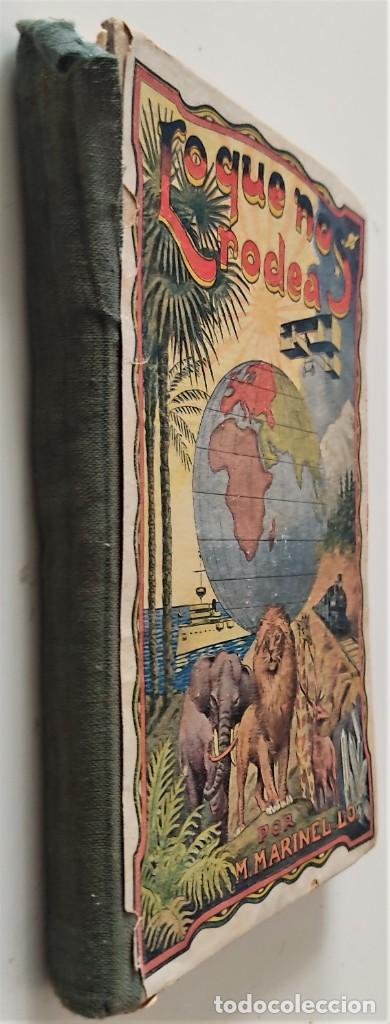 Libros antiguos: LO QUE NOS RODEA, 50 LECCIONES DE COSAS - MANUEL MARINEL-LO - DIBUJOS OPISSO - AÑO 1931 - Foto 2 - 276911928