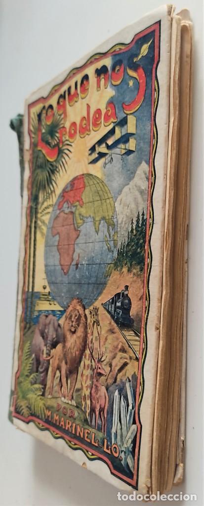 Libros antiguos: LO QUE NOS RODEA, 50 LECCIONES DE COSAS - MANUEL MARINEL-LO - DIBUJOS OPISSO - AÑO 1931 - Foto 3 - 276911928