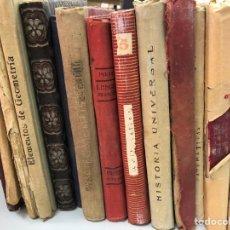 Livres anciens: LOTE A LIBROS DE TEXTO AÑOS 20 Y 30: MATEMATICAS FRANCES GEOMETRIA ET. Lote 277434243